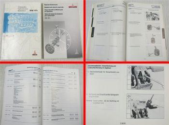 Deutz BFM1015 Motor Richtzeiten und Werkstatthandbuch Reparaturanleitung 1996