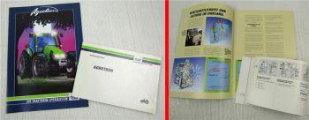 Deutz Fahr Agrotron 4.70 - 6.20 Betriebsanleitung Bedienung und Prospekt 6/95