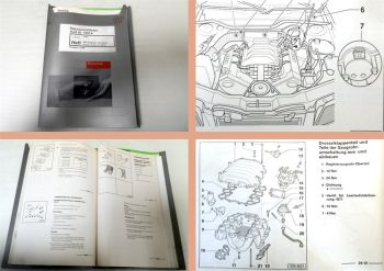 Werkstatthandbuch Audi 80 B4 Typ 8C 6 Zylinder MPI Zündanlage AAH bis 6 / 1994