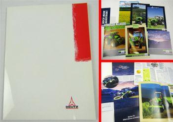 6 Prospekte Deutz Agrocompact S 60 70 80 90 V F Agrotron 215 265 CD Agrotron TTV