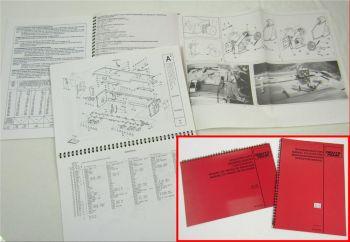 Deutz TC4.26 TC4.30 Aufbereiter Betriebsanleitung und Ersatzteilliste 1995