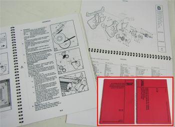 Deutz HPC4.26 HPC4.30 Aufbereiter Betriebsanleitung und Ersatzteilliste 1996