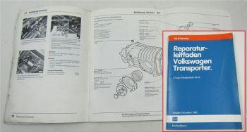 Reparaturleitfaden VW T3 Bus 4 Gang Schaltgetriebe 091/I 1982 - 1988
