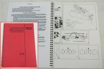 Deutz KM4.26S KM4.30S Mäher Betriebsanleitung Bedienung Operation Manual