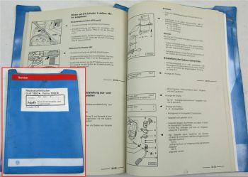 Werkstatthandbuch VW Golf 3 1H 1,9 TDI Einspritz- Vorglühanlage AEY AFN 1Z