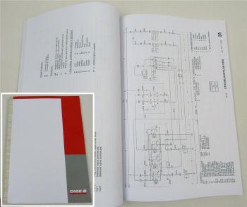 Case CS 120, CS 130, CS 150 Werkstatthandbuch Elektrik Schaltplan