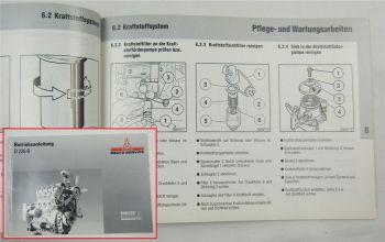 Deutz MWM D226B Motor Bedienungsanleitung Betriebsanleitung 8/1993