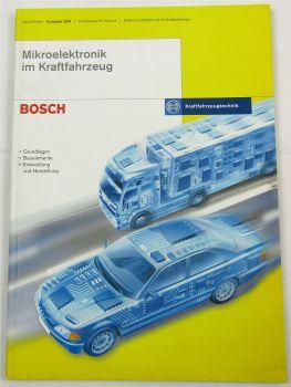 Bosch Mikroelektronik im Kraftfahrzeug Schulungshandbuch Werkstatthandbuch 2001