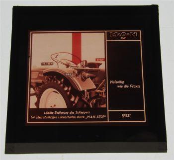 1 Farbdiapositiv MAN Dieselschlepper MAN STOP 1960 Original
