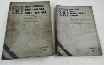 Iveco 80 90 100 F13 OM13 Ersatzteilliste VAN Truck 1977 Parts Catalogue
