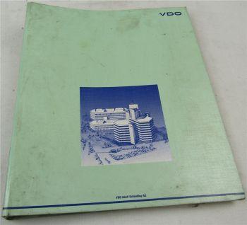 VDO Automatische Geschwindigkeits-Begrenzungsanlage AGB II Handbuch 1993
