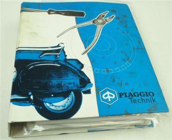 Piaggio Vespa Technische Inforrmationen Schaltpläne Wartungspläne 99/2000