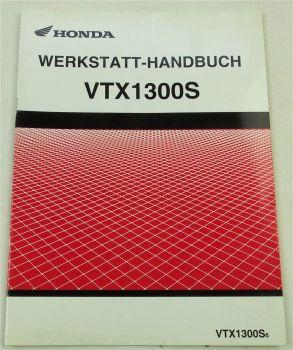 Werkstatthandbuch Honda VTX1300 S6 Ergänzung zur Reparaturanleitung 6/2005