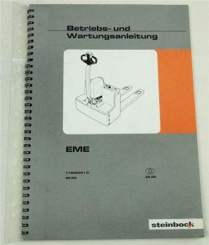 Steinbock EME Elektro Stapler Bedienungsanleitung Betriebtsanleitung 2000