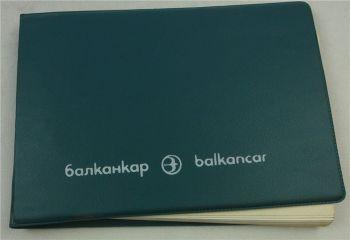 Balkancar EV687 Gabelstapler Ersatzteilliste Parts List Pieces detachees 1990