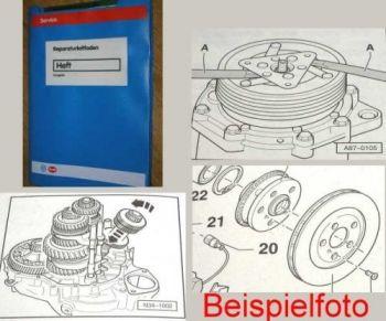 VW Polo 3 6N 6N2 Karosserie Montagearbeiten Innen Reparaturleitfaden