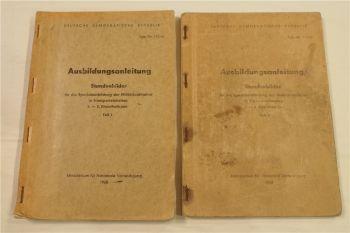 Ausbildungsanleitung Stundenbilder Spezialausbildung Militärkraftfahrer 1968 DDR