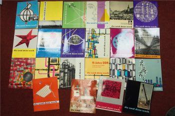 Du und dein Werk Zeitschriften Buna 1961 - 1967 Sammelmappe Schkopau Dow