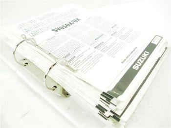 Suzuki SV650X - VS1400 VL1500 - 16 Montageanleitungen Set up Manuals