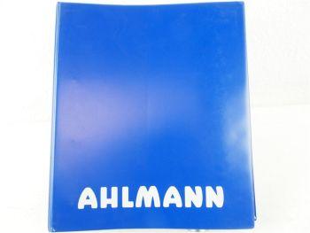 18 Prospekte Ahlmann Mecalac Baumaschinen Schwenklader Knicklader MSX MTX ...