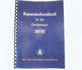 RS 09 Geräteträger Werkstatthandbuch 1962/63