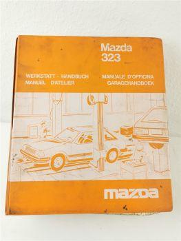 Reparaturanleitung Mazda 323 Garagehandboek Manuel d atelier officina