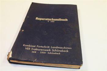 Fortschritt E286 Feldhäcksler Instandsetzung Reparatur Werkstatthandbuch 1/1980