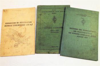 CEAHLÄU GDG4,2 schwere Scheibenegge Bedienung Ersatzteilliste Technisches Buch