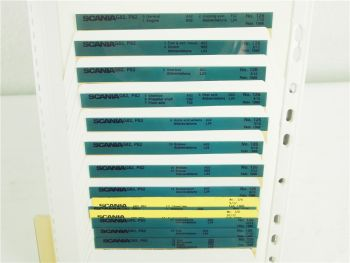SCANIA G82 P82 Ersatzteilliste Parts List Reservdelskatalog 2/1988