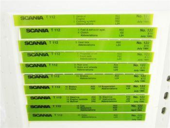 SCANIA T112 Ersatzteilliste Parts List Reservdelskatalog 7/1986