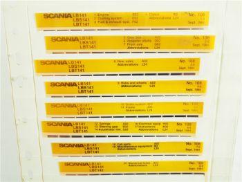 SCANIA LB LBS LBT 141 ab 1977 Ersatzteilliste Parts List Reservdelskatalog 1984