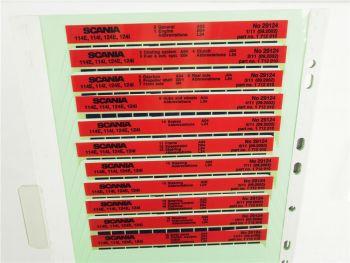 SCANIA 114 124 E / I ab 1997 Ersatzteilliste Parts List Reservdelskatalog 9/2002
