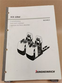 Jungheinrich ECE 220xl Ersatzteilliste Spare parts Pieces Catalogue 2007