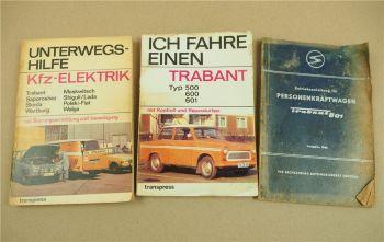 IFA Trabant 601 DDR Werkstatthandbuch KFZ-Elektrik Reparataur Betriebsanleitung