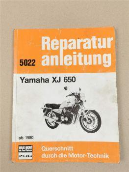 Yamaha XJ 650 ab 1980 Reparaturanleitung Werkstatthandbuch