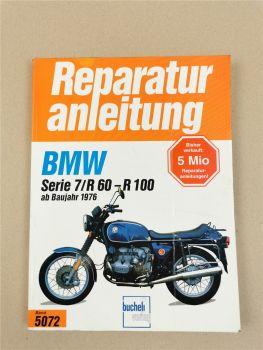 BMW Serie 7 R60/7 R75/7 R80/7 R100/7 S RS Reparaturanleitung ab 1976