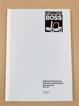 Steinbock Boss RH 20 25 30 35 D CS L Bedienungsanleitung Betriebsanleitung