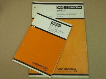 Vibromax Bull SL2 Stampfer Bedienungsanleitung ERsatzteilliste ca 1989