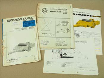 Dynapac CH44 Walze Bedienungsanleitnung und Ersatzteilliste