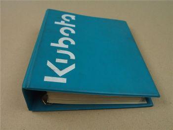 Verkaufshandbuch Kubota KH 21 36 41 61 71 101 151 191 R 310 410 510 KC50-120