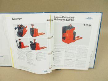 Linde H12 16 18 20 T20 T30 L12 N20 P30 M22 Produktneuheiten 1999 Prospekte