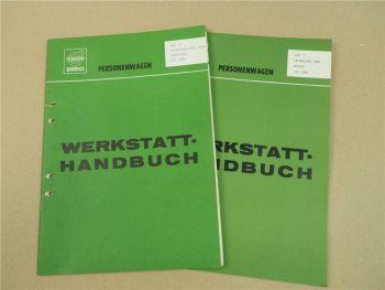 Reparaturanleitung Volvo P 120 1800 Vorderachse Lenkung ... Werkstatthandbuch