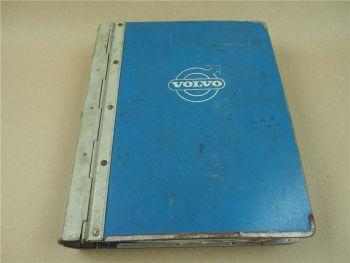 Volvo 140 142 144 145 Parts Book Ersatzteilliste 1973 1974 Reservdelskatalog
