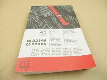 Jonsered CS2234S CS2238S Motorsäge Kettensäge Bedienungsanleitung Manual