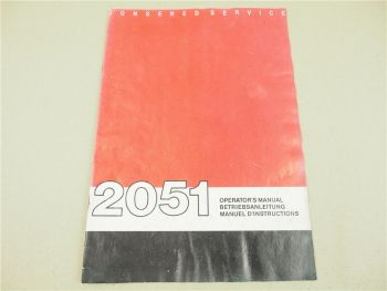 Jonsered 2051 Motorsäge Bedienung Wartung Betriebsanleitung Operators Manual 90