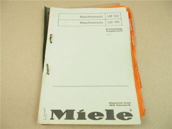 Miele Alfa-Laval Ersatzteillisten für Milchanlagen Melkzeuge Melkeimer Kontrollg