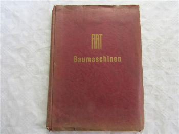 Fiat FL6 Raupenschlepper Reparaturhandbuch Werkstatthandbuch ohne Abbildungen