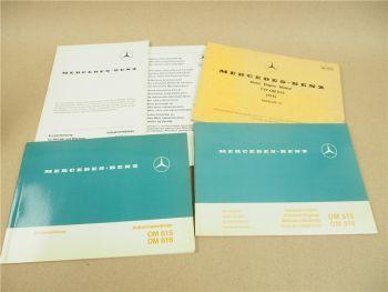 Mercedes Benz OM 616 Industriemotor Betriebsanleitung Wartungsheft Bildkatalog