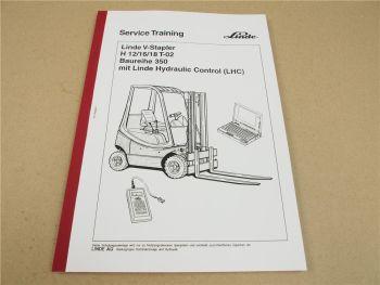 Linde H12 H16 H18 T-02 V-Stapler Service Training