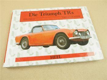 Die Triumph TRs von Graham Robson Collectors Guide Band III 1988